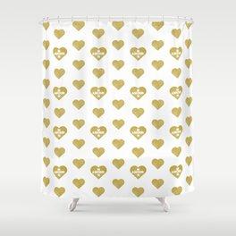 Love Gala Shower Curtain