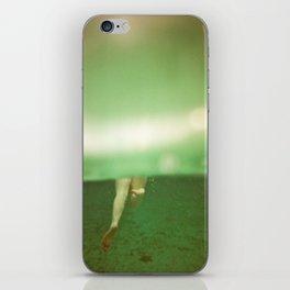 Underwater Feet iPhone Skin