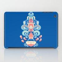 deco iPad Cases featuring Ponyo Deco by Ashley Hay