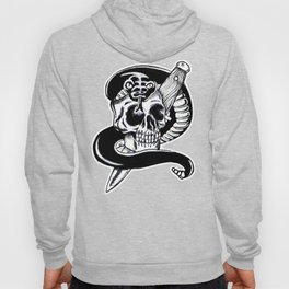 Snake, Skull and Dagger Hoody