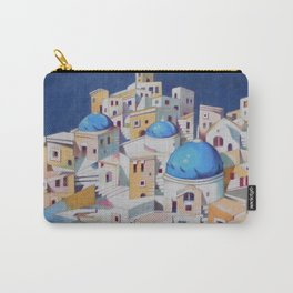 Memory of Santorini Carry-All Pouch