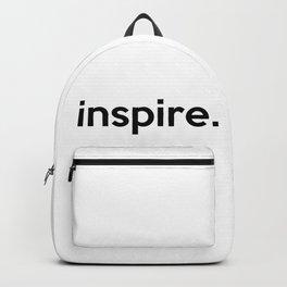 inspire. Backpack