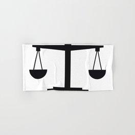 weight scale Hand & Bath Towel