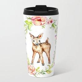 Oh Deer Metal Travel Mug