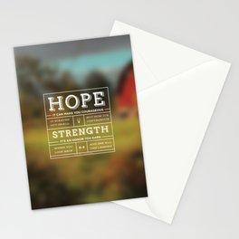 Hope & Strength Stationery Cards