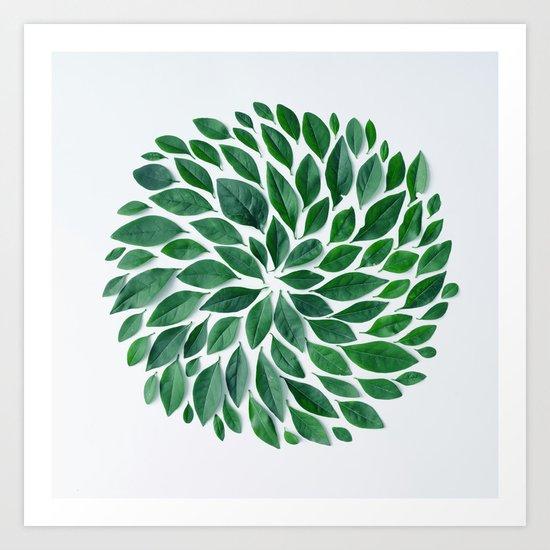 tropical star  Art Print