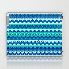 Blue and Teal Tribal Pattern Laptop & iPad Skin