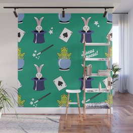 Hocus pocus - green Wall Mural