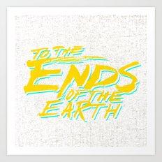 Ends Art Print