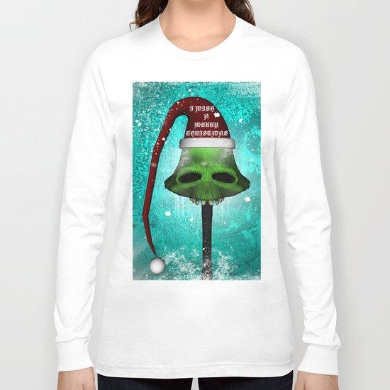 I wish you a merry christmas Long Sleeve T-shirt
