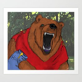 Oh, Bother..... Art Print