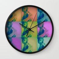 vienna Wall Clocks featuring Vienna VI by C Blackburn