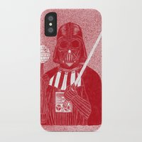 darth vader iPhone & iPod Cases featuring Darth Vader by David Penela