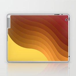 Hot sun - minimal art Laptop & iPad Skin