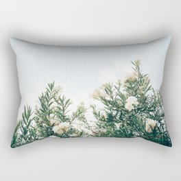 Neutral Spring Tones Rectangular Pillow