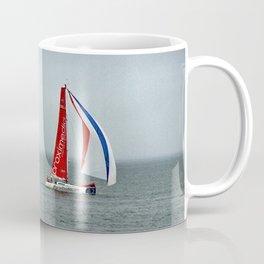 part 4 of 4 of Sailing Battle 42-56  - Transat Quebec St-Malo Coffee Mug