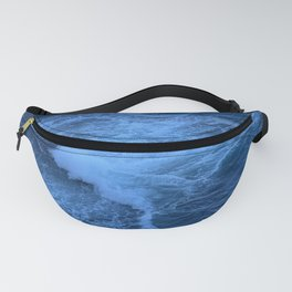 Blue waters and waves at Kamay Botany Bay National Park, Sydney, NSW, Australia Fanny Pack