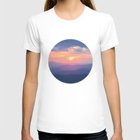 tennessee T-shirts featuring Sunset in Tennessee by GF Fine Art Photography