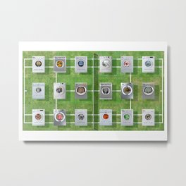 Tennis Court 01 Metal Print