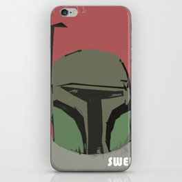 intergalactic swerve iPhone Skin