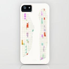 cut end color iPhone Case