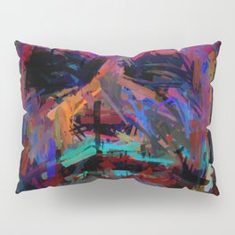 Abstract Rainbow Camouflage II Pillow Sham