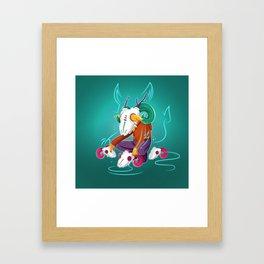 Wildlings - Carneiro Framed Art Print