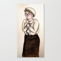 nurse Canvas Prints featuring Nurse by CokecinL