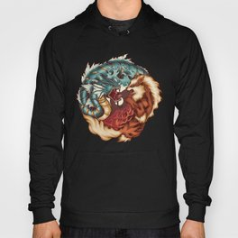 The Tiger and the Dragon Hoody
