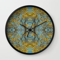 halo Wall Clocks featuring Halo by N A N A M I
