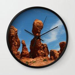 Picturesque Landscape Scene Wall Clock