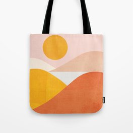 Abstraction_Mountains Tote Bag