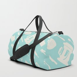 In The Kitchen — Turquoise Duffle Bag