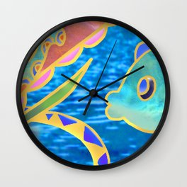 friendship ocean Wall Clock
