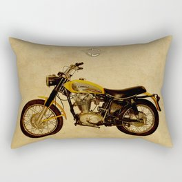 Ducati Scrambler 350 1970 Rectangular Pillow