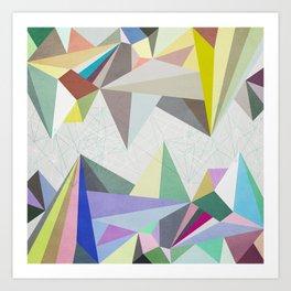 Colorflash 4 Art Print