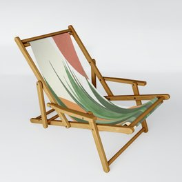 Abstract Agave Plant Sling Chair