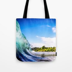 Tropical Wave Tote Bag