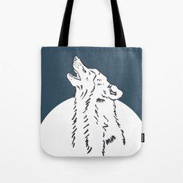 Pra Loup Howling Wolf Tote Bag