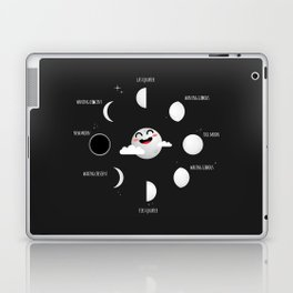 Science Lunar Calendar Laptop & iPad Skin