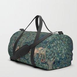 William Morris Greenery Tapestry Duffle Bag