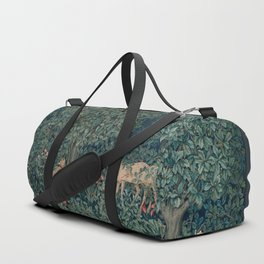 William Morris Greenery Tapestry Duffle Bag