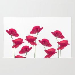 Poppy Love Valentine Rug