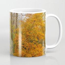 Leaning Into Autumn Coffee Mug