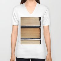 books V-neck T-shirts featuring Books by eARTh