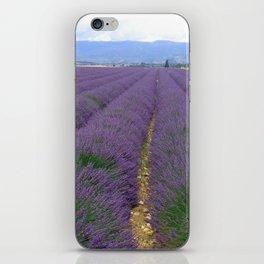 Lavander iPhone Skin