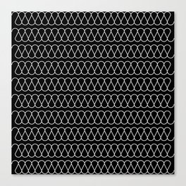 10 layers of thermal insulation, view from AutoCad Canvas Print
