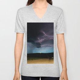 Ocean of Lightning Unisex V-Neck