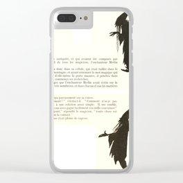 Arthur Rackham - Sleeping Beauty (1920) - Merlin Clear iPhone Case