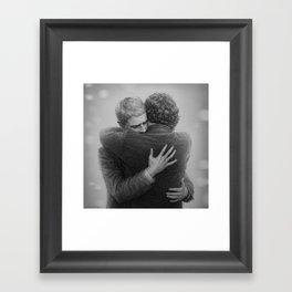 John and Sherlock Framed Art Print
